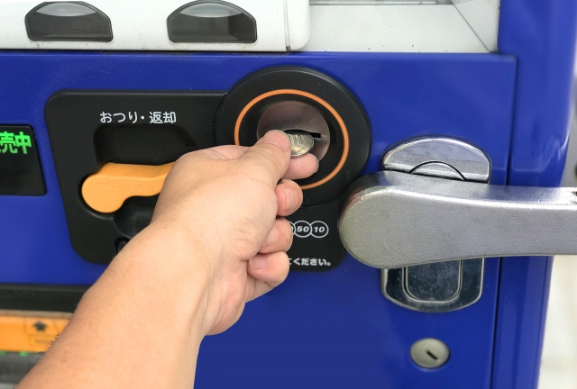 自動販売機設置で副収入